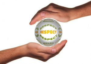 Respekt-Wertschätzung